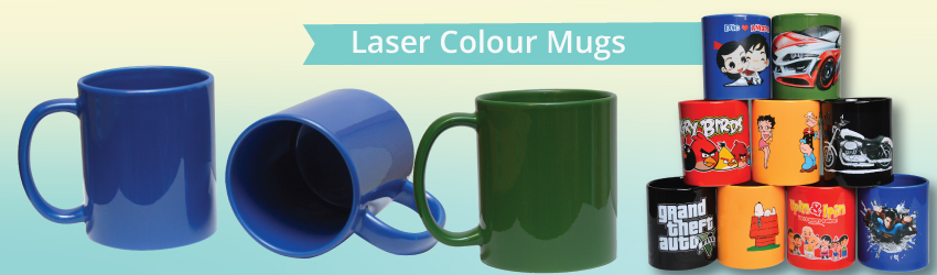 <p>With laser transfer mugs, you can print your colourful artwork, logo or text on a full colour mugs at no MOQ required &amp; expand your mug printing business now!</p>