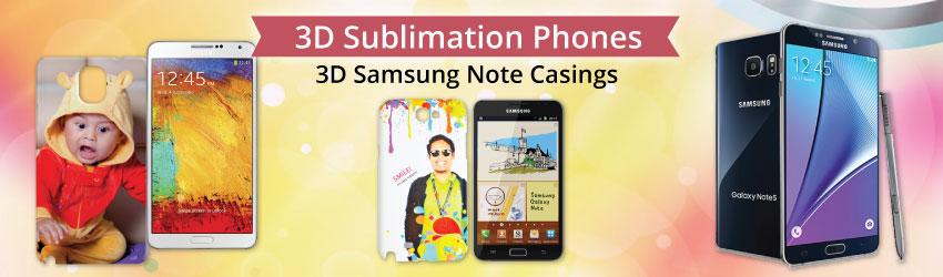 3D Samsung Note Casings