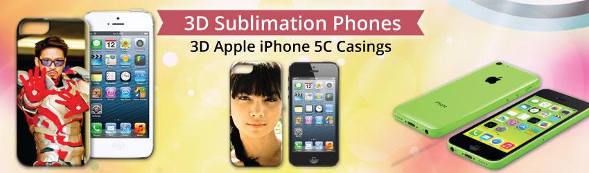 3D Apple iPhone 5C Casings