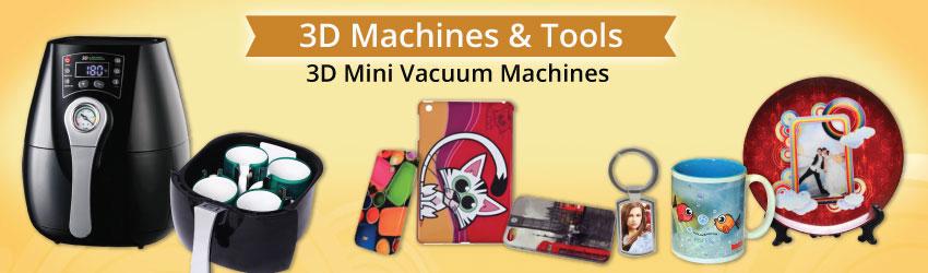 FreeSUB 3D Mini Vacuum Machines