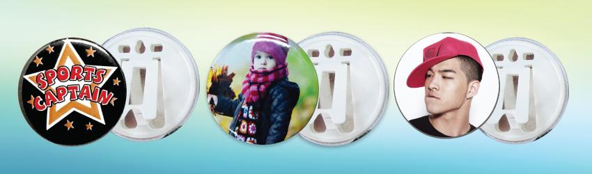 Button Badge Materials (75mm)