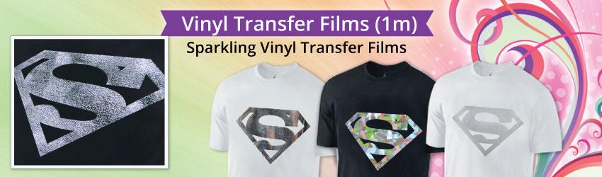Sparkling Vinyl Transfer Films
