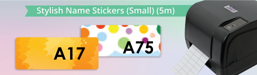 <p>Supply all kinds of name label stickers such as cartoon name stickers as a printing materials for thermal printer. Make money from name label printing business.</p>