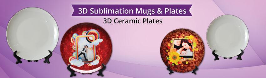 3D Ceramic Plates