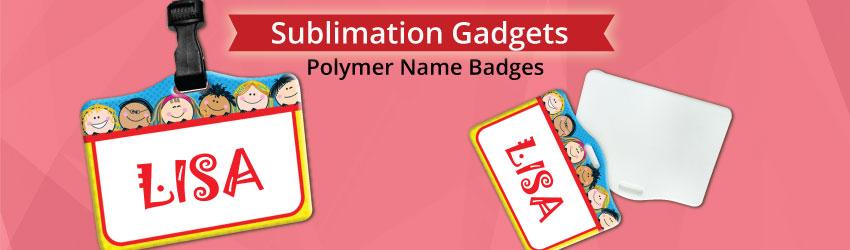Polymer Name Badges