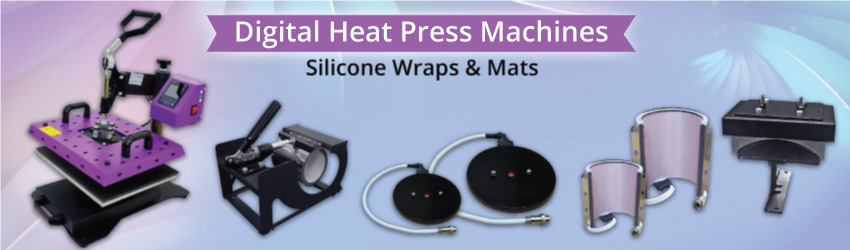 Replace your silicone wraps or mats after a number of heating to ensure the consistent printing quality and low rejection rate. Easy to install and fix in.