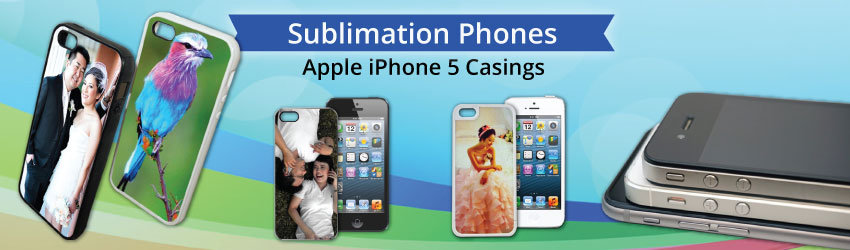 Supply sublimation casing for iPhone and iPad for heat transfer printing. Easy way to customize your digital device such as iPhone and iPad with DIY casing.