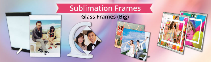 Supply sublimation glass frames and clocks for heat transfer printing. Suitable for home decorative with such a DIY unique gift ideas. Buy and customize yours.