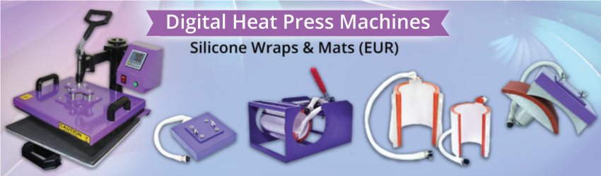 <p>Replace your silicone wraps or mats after a number of heating to ensure the consistent printing quality and low rejection rate. Easy to install and fix in.</p>