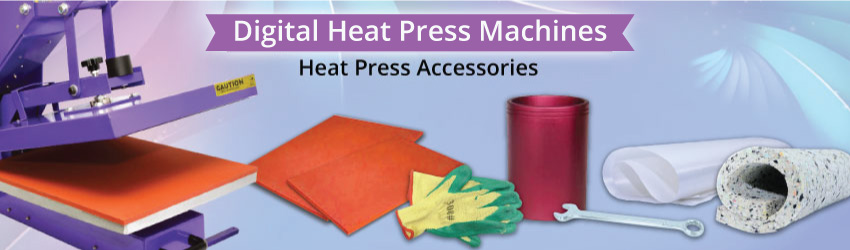 <p>Get your accessories such as soft mat, telfon sheet, oven glove etc for more convenient transfer printing process. Affordable and quality assured / tested.</p>
